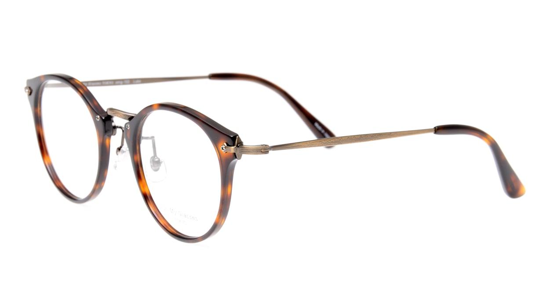 Oh My Glasses TOKYO Luke omg-103-20-12 [鯖江産/丸メガネ/茶色]  1