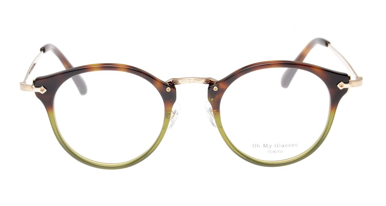 Oh My Glasses TOKYO Luke omg-103-58-14 [鯖江産/丸メガネ/派手]
