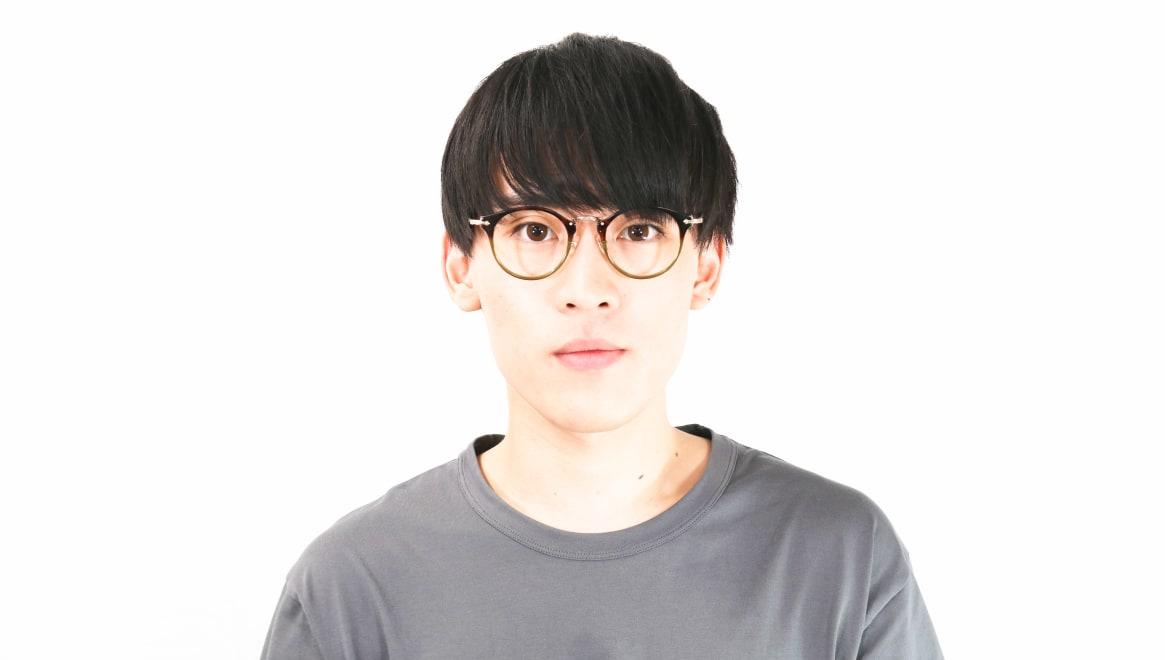 Oh My Glasses TOKYO Luke omg-103-58-14 [鯖江産/丸メガネ/派手]  4