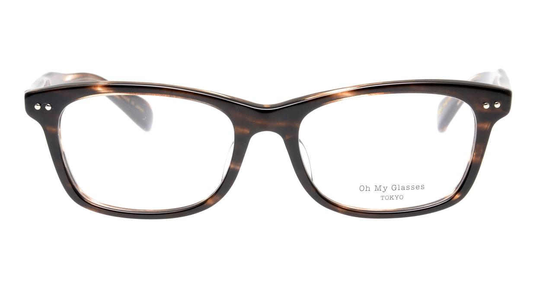 Oh My Glasses TOKYO Morris omg-048-4-53 [鯖江産/ウェリントン/茶色]
