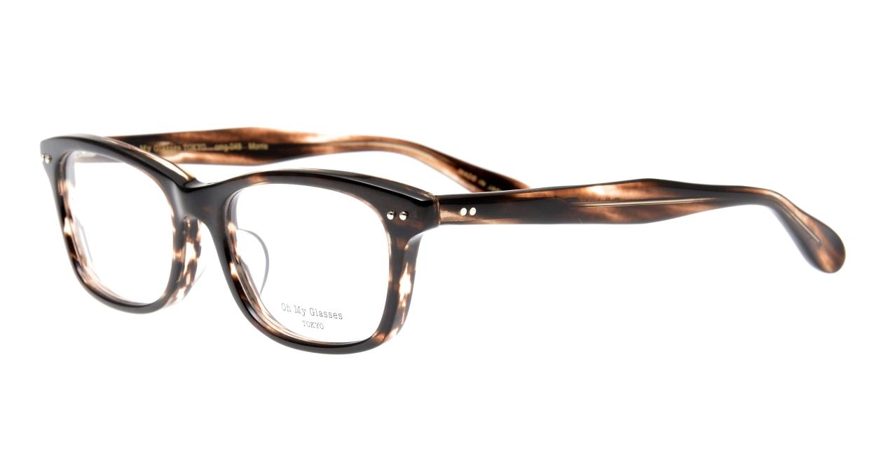 Oh My Glasses TOKYO Morris omg-048-4-53 [鯖江産/ウェリントン/茶色]  1