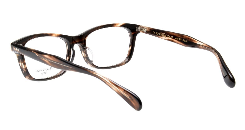 Oh My Glasses TOKYO Morris omg-048-4-53 [鯖江産/ウェリントン/茶色]  3