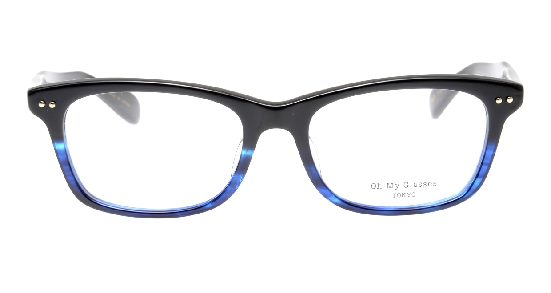 Oh My Glasses TOKYO Morris omg-048-6-53 [黒縁/鯖江産/ウェリントン]