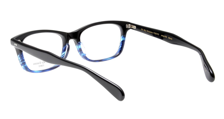 Oh My Glasses TOKYO Morris omg-048-6-53 [黒縁/鯖江産/ウェリントン]  3