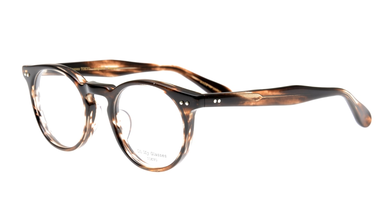 Oh My Glasses TOKYO Richard omg-049-4-48 [鯖江産/ウェリントン/茶色]  1