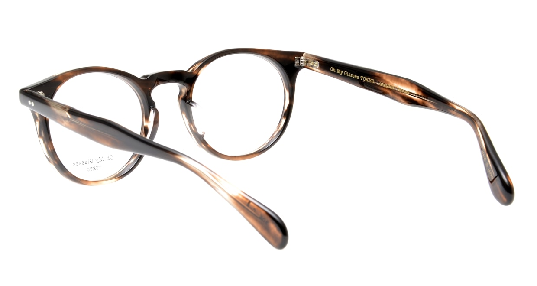 Oh My Glasses TOKYO Richard omg-049-4-48 [鯖江産/ウェリントン/茶色]  3