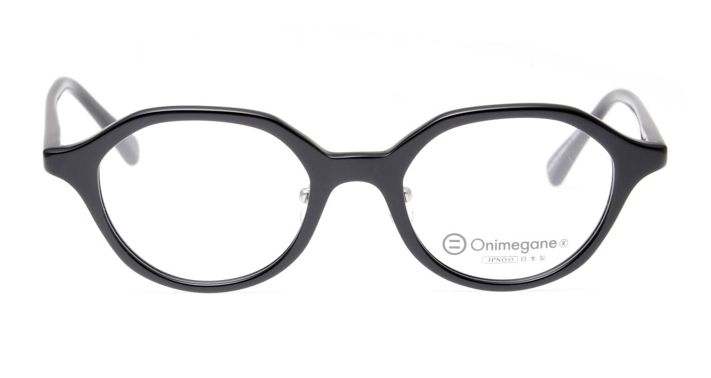 オニメガネ OG7818-C1 [黒縁/日本製/丸メガネ]