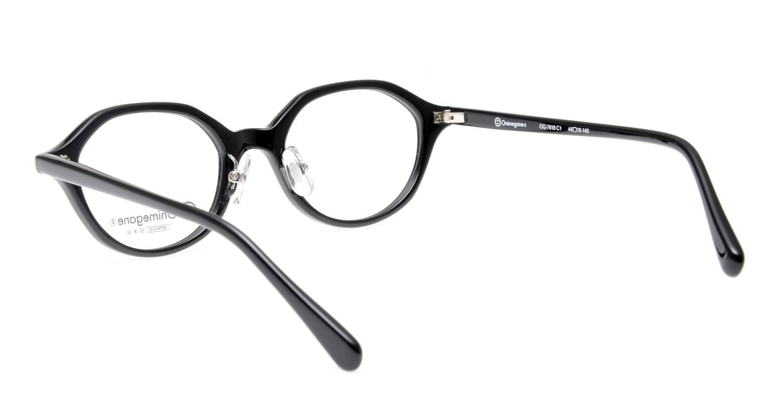 オニメガネ OG7818-C1 [黒縁/日本製/丸メガネ]  3