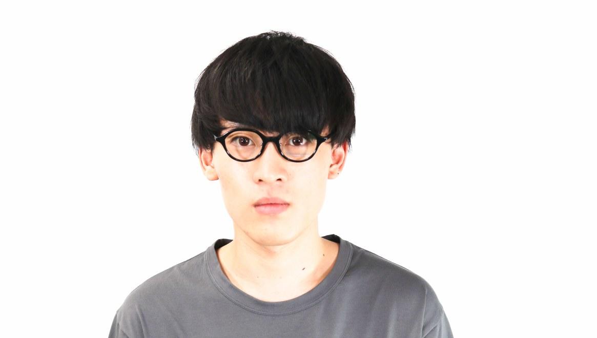 オニメガネ OG7818-C1 [黒縁/鯖江産/丸メガネ]  4