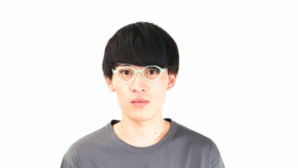 オニメガネ OG7818L-C4 [鯖江産/丸メガネ/青]  4