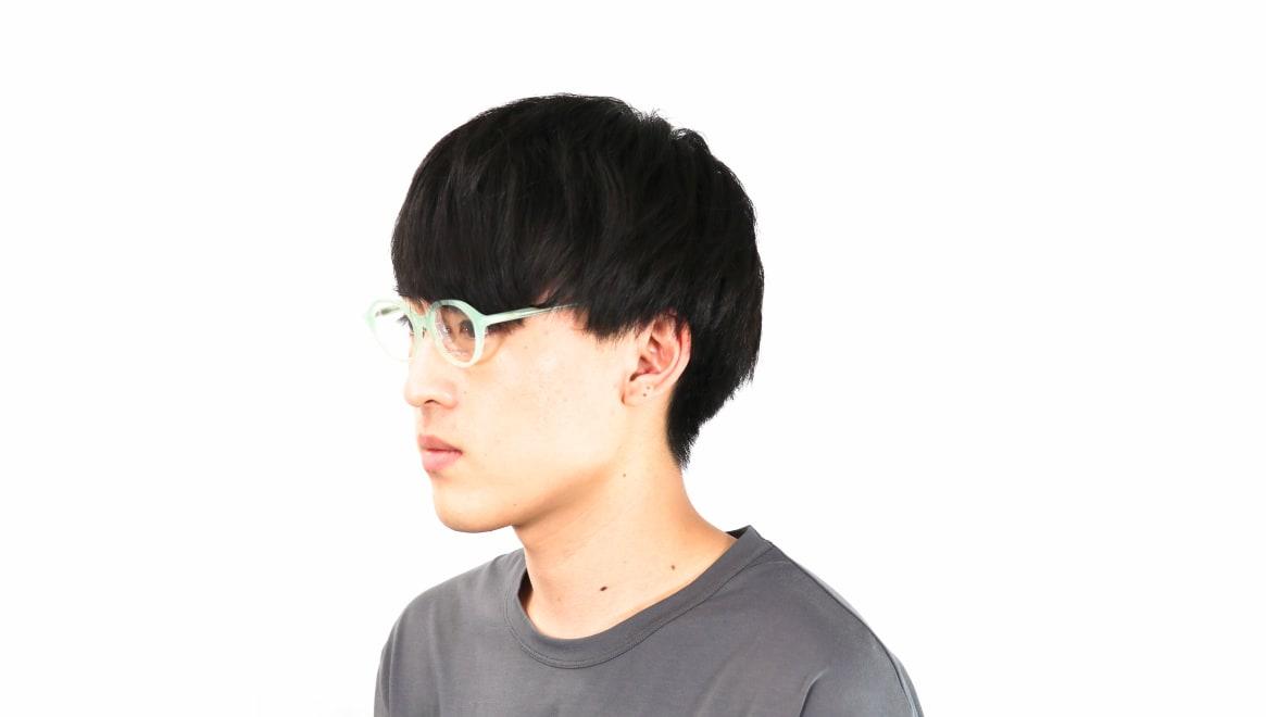 オニメガネ OG7818L-C4 [鯖江産/丸メガネ/青]  5