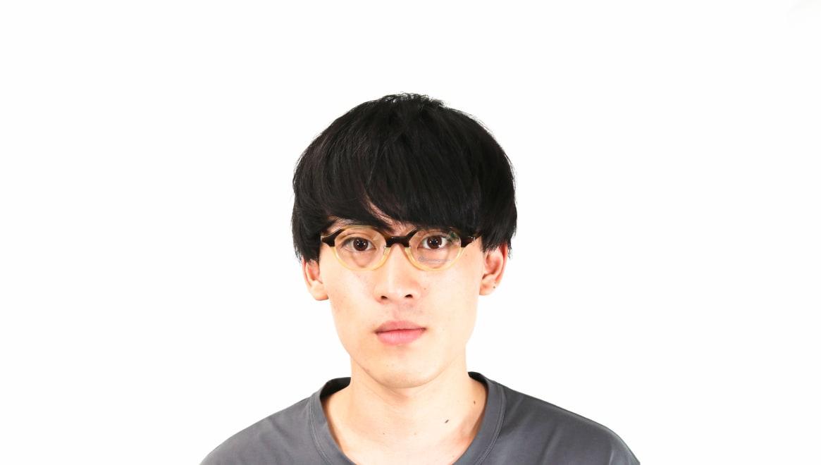 オニメガネ OG7818L-C6 [鯖江産/丸メガネ/茶色]  4
