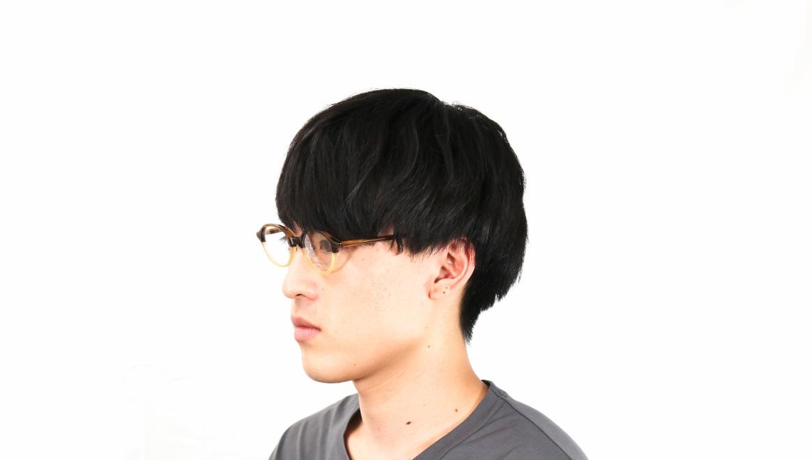 オニメガネ OG7818L-C6 [鯖江産/丸メガネ/茶色]  5