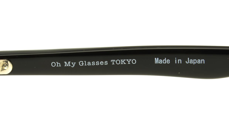 Oh My Glasses TOKYO Oliver omg-006-1-47 +1.0 [黒縁/ウェリントン]  4