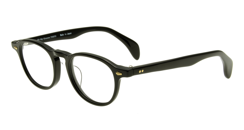 Oh My Glasses TOKYO Oliver omg-006-1-47 +2.0 [黒縁/ウェリントン]  1