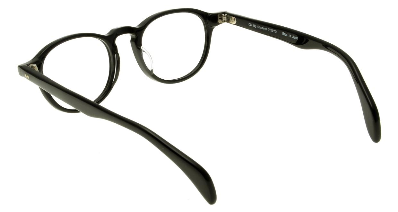 Oh My Glasses TOKYO Oliver omg-006-1-47 +2.0 [黒縁/ウェリントン]  3