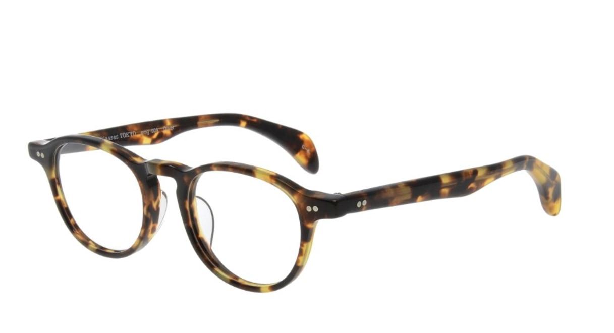 Oh My Glasses TOKYO Oliver omg-006-4-47 +1.0 [黒縁/ウェリントン]