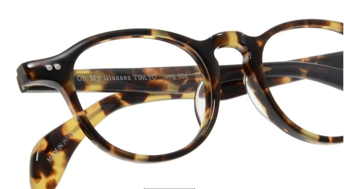 Oh My Glasses TOKYO Oliver omg-006-4-47 +1.0 [黒縁/ウェリントン]  4