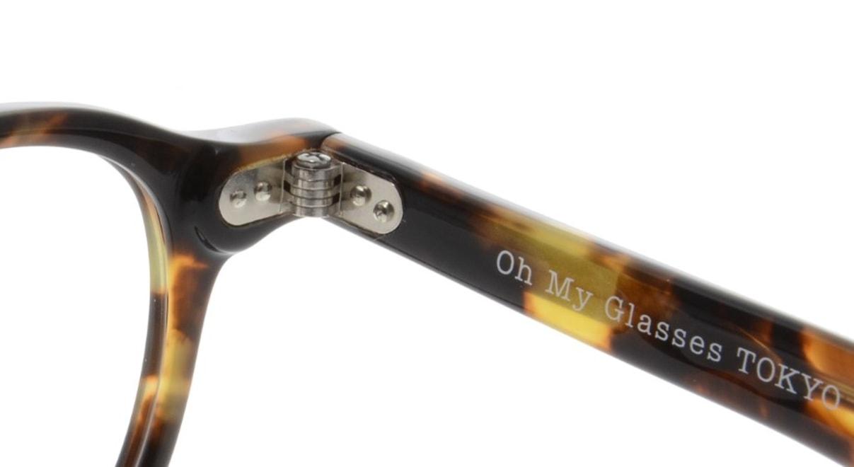 Oh My Glasses TOKYO Oliver omg-006-4-47 +1.0 [黒縁/ウェリントン]  5