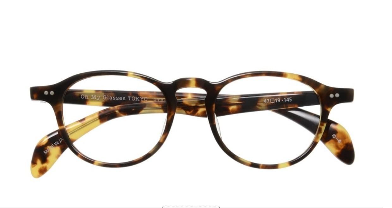 Oh My Glasses TOKYO Oliver omg-006-4-47 +1.5 [黒縁/ウェリントン]