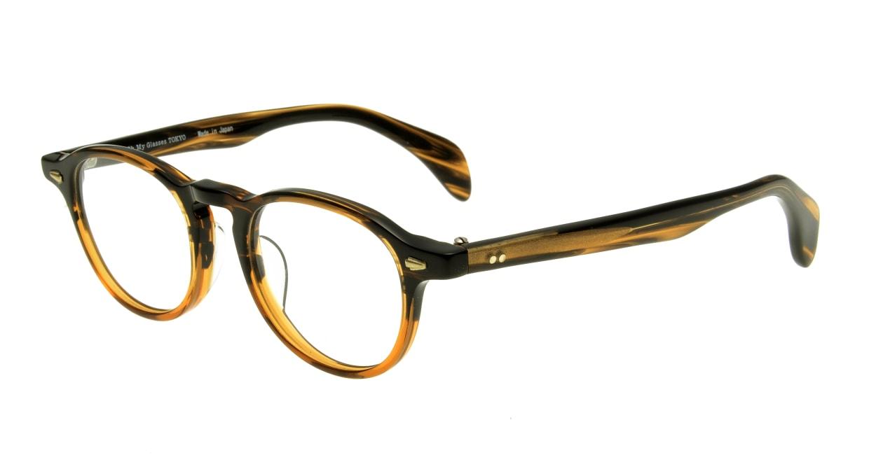 Oh My Glasses TOKYO Oliver omg-006-5-47 +1.5 [黒縁/ウェリントン]  1