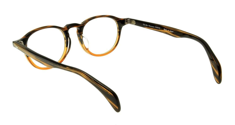 Oh My Glasses TOKYO Oliver omg-006-5-47 +1.5 [黒縁/ウェリントン]  3