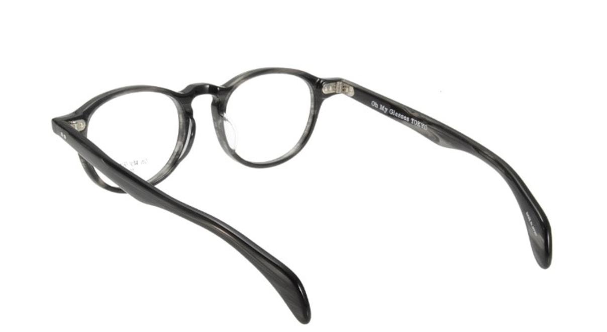 Oh My Glasses TOKYO Oliver omg-006-6-47 +1.0 [黒縁/ウェリントン]  3