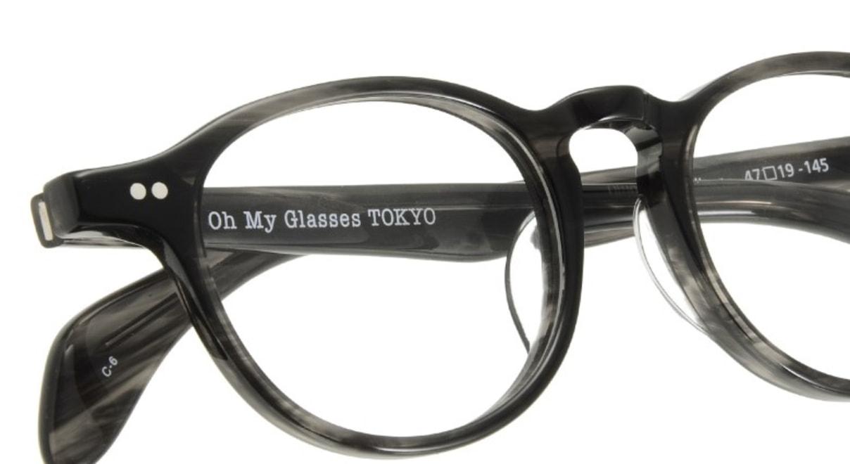 Oh My Glasses TOKYO Oliver omg-006-6-47 +1.5 [黒縁/ウェリントン]  4