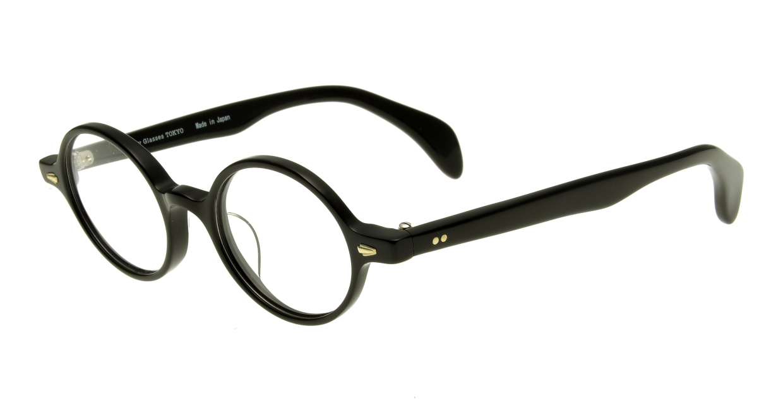 Oh My Glasses TOKYO Alex omg-007-1-45 +1.5 [黒縁/ウェリントン]  1