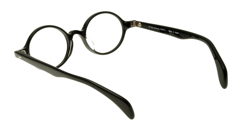 Oh My Glasses TOKYO Alex omg-007-1-45 +1.5 [黒縁/ウェリントン]  3
