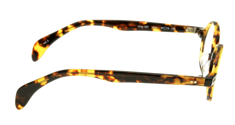 Oh My Glasses TOKYO Alex omg-007-4-45 +1.0 [黒縁/ウェリントン]  2