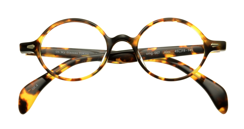 Oh My Glasses TOKYO Alex omg-007-4-45 +1.5 [黒縁/ウェリントン]