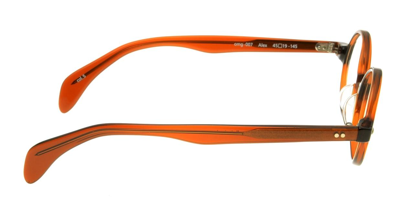 Oh My Glasses TOKYO Alex omg-007-5-45 +1.0 [黒縁/ウェリントン]  2