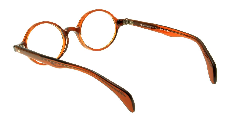 Oh My Glasses TOKYO Alex omg-007-5-45 +1.5 [黒縁/ウェリントン]  3