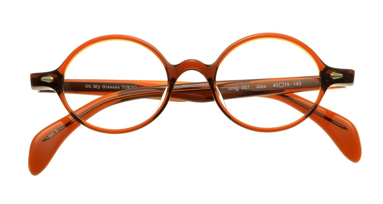 Oh My Glasses TOKYO Alex omg-007-5-45 +1.5 [黒縁/ウェリントン]