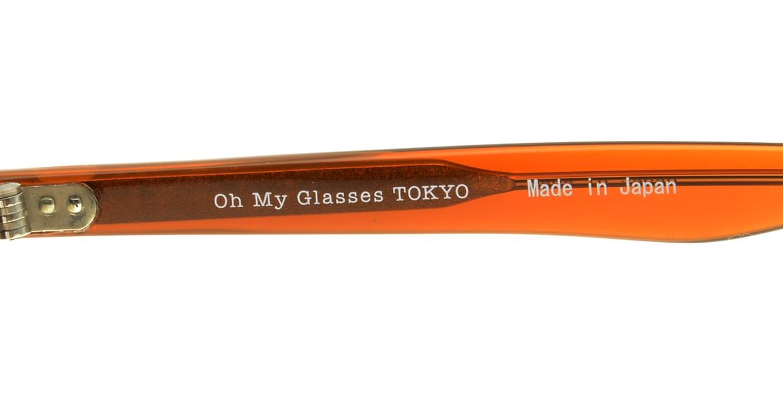 Oh My Glasses TOKYO Alex omg-007-5-45 +1.5 [黒縁/ウェリントン]  4