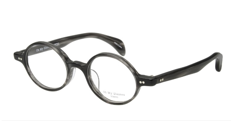 Oh My Glasses TOKYO Alex omg-007-6-45 +1.0 [黒縁/ウェリントン]  1
