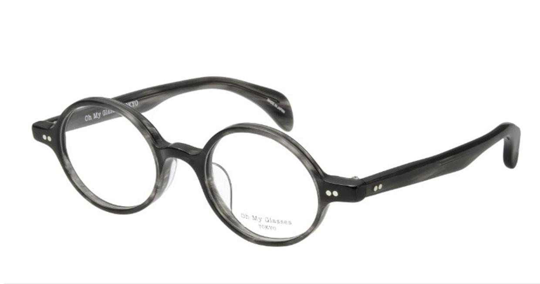 Oh My Glasses TOKYO Alex omg-007-6-45 +2.0 [黒縁/ウェリントン]  1
