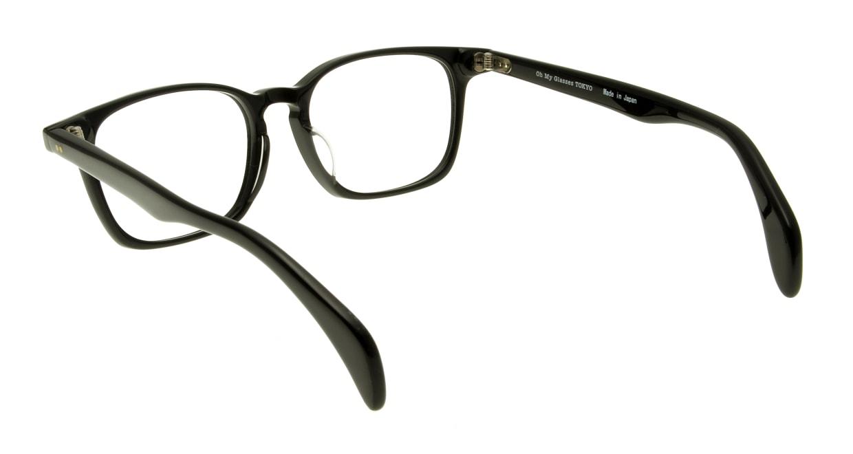 Oh My Glasses TOKYO Marc omg-008-1-51 +1.0 [黒縁/ウェリントン]  3