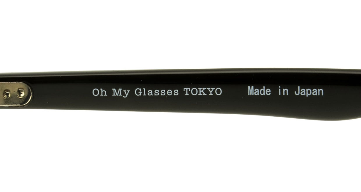 Oh My Glasses TOKYO Marc omg-008-1-51 +1.5 [黒縁/ウェリントン]  4
