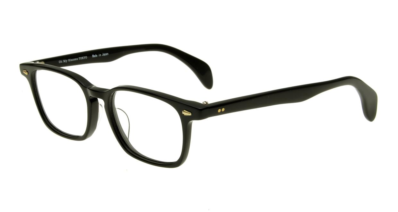 Oh My Glasses TOKYO Marc omg-008-1-51 +2.0 [黒縁/ウェリントン]  1