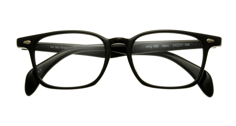 Oh My Glasses TOKYO Marc omg-008-1-51 +2.0 [黒縁/ウェリントン]