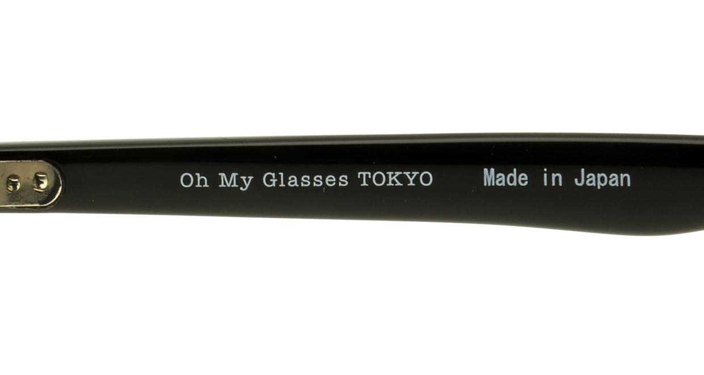 Oh My Glasses TOKYO Marc omg-008-1-51 +2.0 [黒縁/ウェリントン]  4
