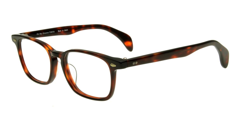 Oh My Glasses TOKYO Marc omg-008-2-51 +1.5 [黒縁/ウェリントン]  1