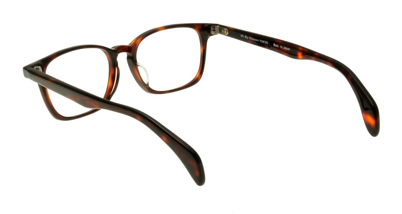 Oh My Glasses TOKYO Marc omg-008-2-51 +1.5 [黒縁/ウェリントン]  3
