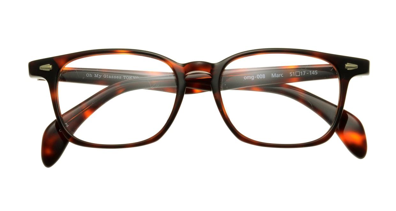 Oh My Glasses TOKYO Marc omg-008-2-51 +1.5 [黒縁/ウェリントン]
