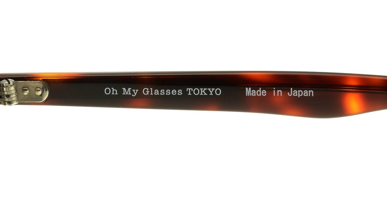 Oh My Glasses TOKYO Marc omg-008-2-51 +1.5 [黒縁/ウェリントン]  4
