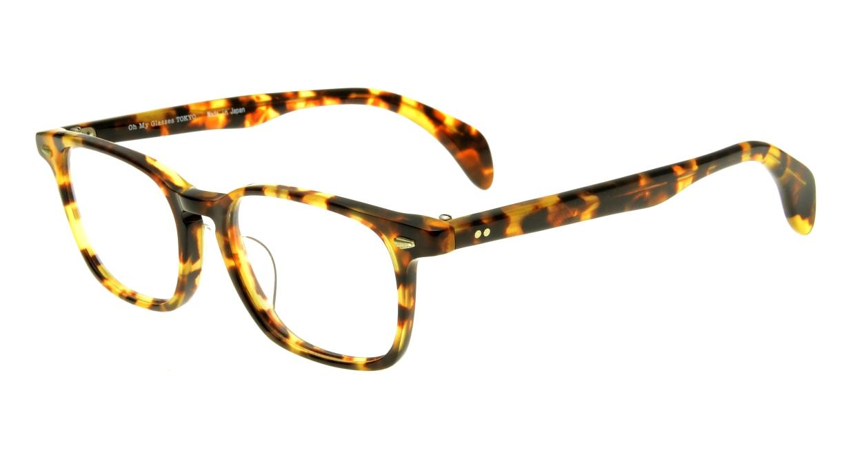 Oh My Glasses TOKYO Marc omg-008-4-51 +1.0 [黒縁/ウェリントン]  1