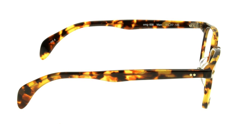 Oh My Glasses TOKYO Marc omg-008-4-51 +1.0 [黒縁/ウェリントン]  2