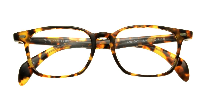 Oh My Glasses TOKYO Marc omg-008-4-51 +1.0 [黒縁/ウェリントン]